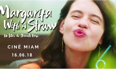 Ciné-Miam: Margarita, with a straw